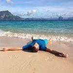Einfach mal entspannen auf Helicopter Island