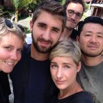 Gruppenfoto in Tanah toraja