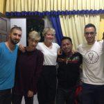 Abschied von Umar in Makassar