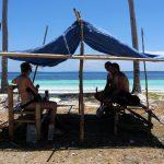 Es gibt kein Schatten am Bara Beach