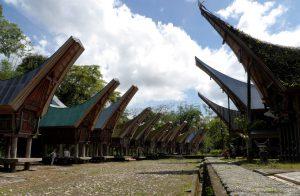 Traditionelle Häuser Tanah Torajas