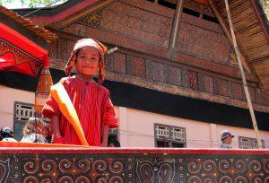 Kleiner Mann aus Toraja