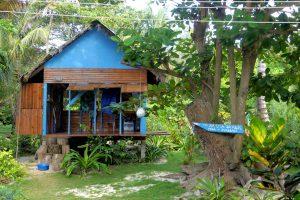 "The Karma Shack ""Yoga + Massage"" auf Little Corn Island"