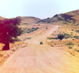 Auf dem Weg nach Windhoek, Namibia
