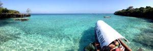 Wasser Taxi zum Coral Park
