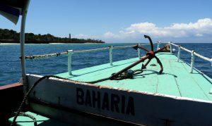 Auf dem Weg nach Chumbe Island